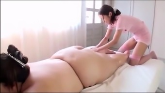 Japanese people BBW's Attractive Massage therapy