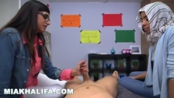MIA KHALIFA - Banned Arab Version Gives Blowjob Lessons