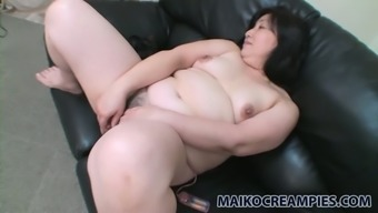 Vivacious mature female Yoko Momose wants to address her clit with her completely love egg