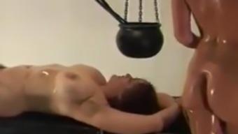 Classic BDSM movie - Unpleasant Revolt Woman