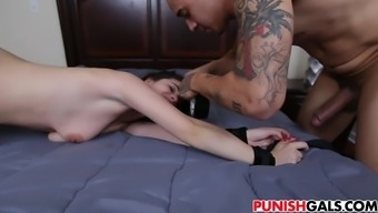 rough large cock fuck for kacey quinn