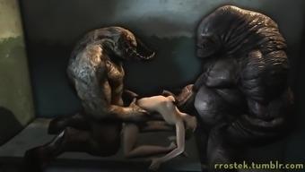 Monster porno compliancen