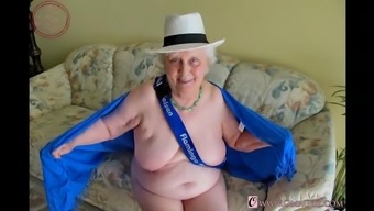 OmaGeiL Granny Photograph Compilation With Boobs