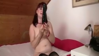 Cute in-law requires manhood from behind
