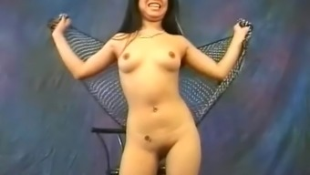 Fairly Asian hobo Miki Chan does several exotic, exposed moving
