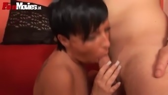 steaming sex with the horny grow older blond sweet cox