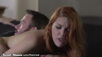 Wifey Turned on By Watching Partner along with Redhead Armana