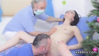 Man helps out with the use of hymen checkup and bumping of unique kitten50