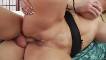 alura jenson getting her plump stupid ass drilled in assist