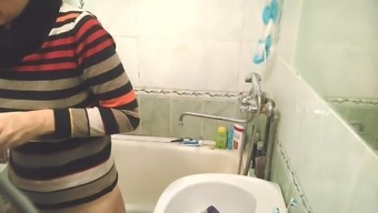 Monitoring cam in bathroom