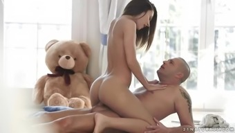 dazzling hungarian bae alexis brill fucks a penis in appealing presents