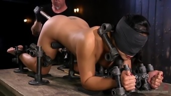 mia li is immobilized and abused by great peaks