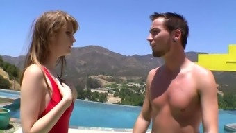 Faye Reagan is really version point hot but this busty dame interests love-making from behind