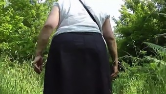 Upskirt bum inside the woods Stage One.mp4