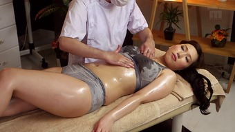 Sizzling Japanese people milf toward the rubdown table for touch fucking