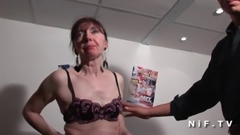 Naughty french grow older banged closed fist fucked and sodomized