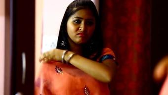Telugu Sizzling Presenter Mamatha Heated Romancing Scane In Goal