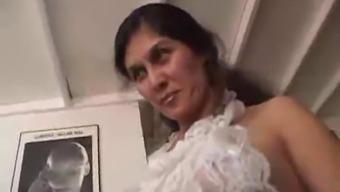 Fuzzy mature maid