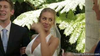 Nicole Aniston cheats on the fiance at the wedding ceremony
