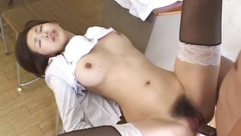 Mai Hanano Beautiful Japanese people coach fucked part5