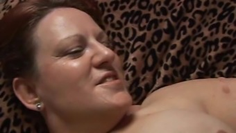 Beautiful busty age Plus-size woman likes a tough fucking