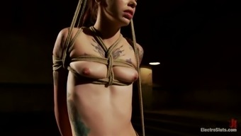 Krysta Kaos Inked Blonde Related and Completely outclassed in Lesbian BDSM