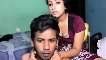 Muslim Attractive Stud fuck her lover toward the settee