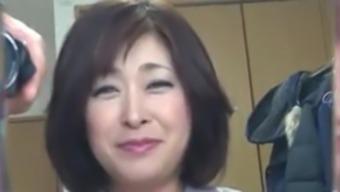 Japanese Chubby Senior Creampie Sayo Akagi 51years