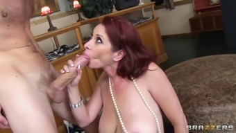 Slutty milf adores it in her own ass