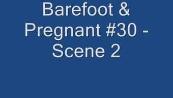 Without shoes & Gets pregnant #30 - Scene 2(two)