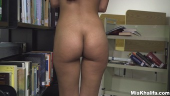 Undesirable girl Mia Khalifa gets naked within the masses library