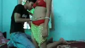 Desi brunette hitched dark gets nailed christian missionary on digicam