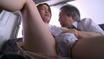 Horny Misuzu lets the seasoned guy look into her your vaginal heights