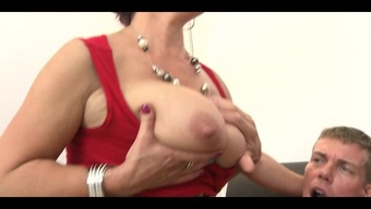 3 big beautiful woman mature woman with substantial titties fucks stud