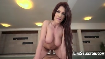 Busty babe Aida Swinger wishes to fuck her masseur