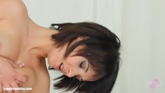 Taissia Shanti and Ale Charming in Morning hours animals lesbian scene
