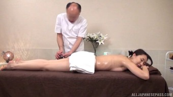 Simple Japanese man gives the hen likewise massage as well as having the bonking