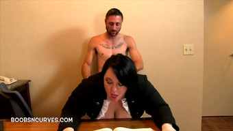 Body ridden by her supervisor round the home