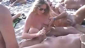 Just a sweet nudist shore series of naughty individuals