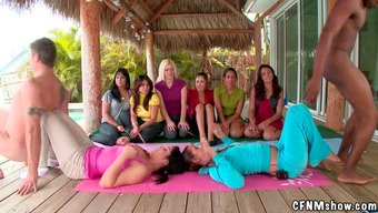 Twisted CFNM Qi gong Training