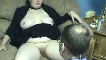 Plumper dairy products skinned BBW op welke manier gets her inflated cherry eaten