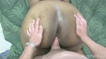 Big perfect mum with floppy boobs gets her cooch chastisize by using white complicated penis in mish and doggy positions