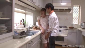 Japanese companion Ayaka Fujikita take pleasure in major love-making at your home