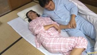 Perverted Homemaker Ayumi Takanashi gets set after dinner