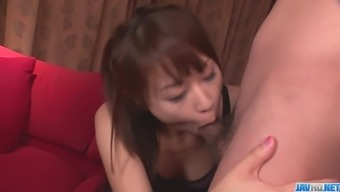 A great oriental girl gives strike position before Maika gets a facial