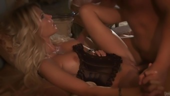 Superb Jessica Drake Get a Rimjob Before being allowed to go Extreme