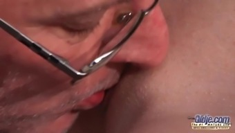 Little Old Pornography Beautiful Youngster Giving Blowjob and fucked
