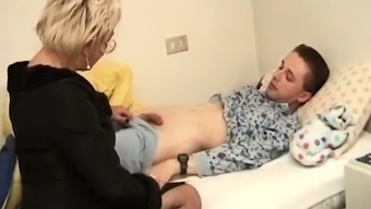Astounding hobo got fucked seriously toward the bed