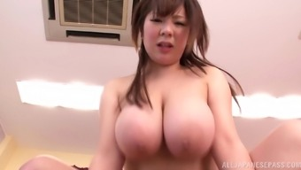 A round Japanese people date gets her hirsuite twat hammered and ejaculate in her own lips