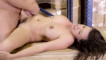 Danica Dillon seduces a favored partner and get a superb shagging game